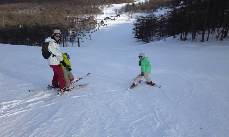 軽井沢スキー ゴルフ5 R32で